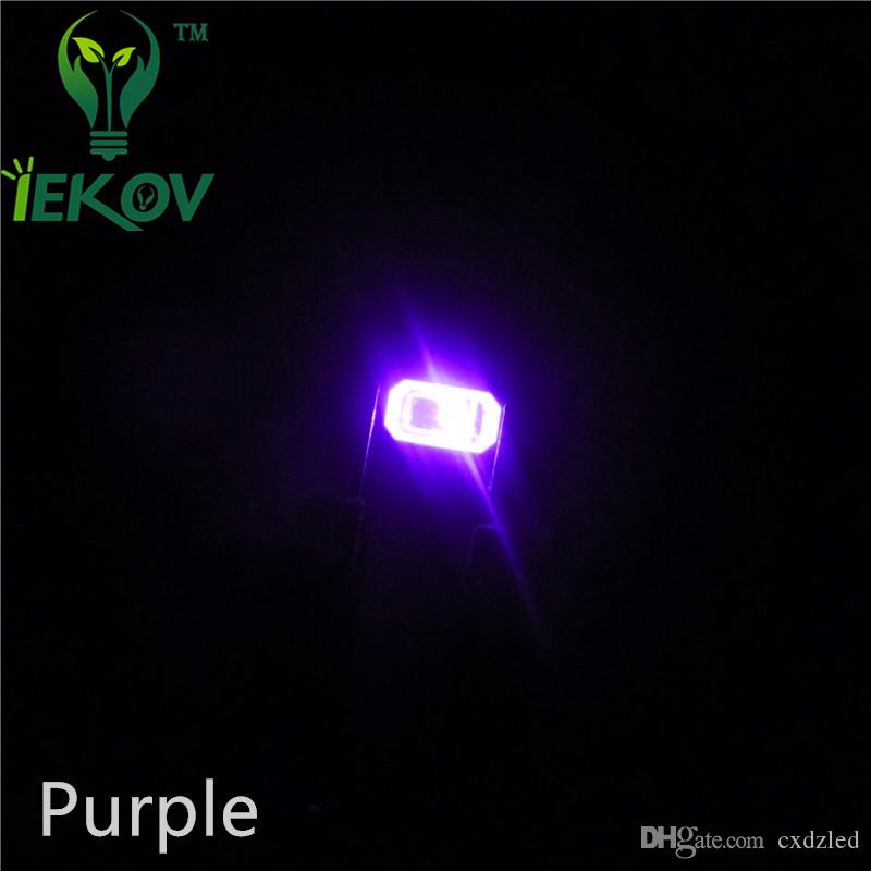 5630 5730 Purple/UV LED SMD/SMT Chip lamp beads Ultra Bright Light Emitting diode DIY Applicable to all kinds of toys