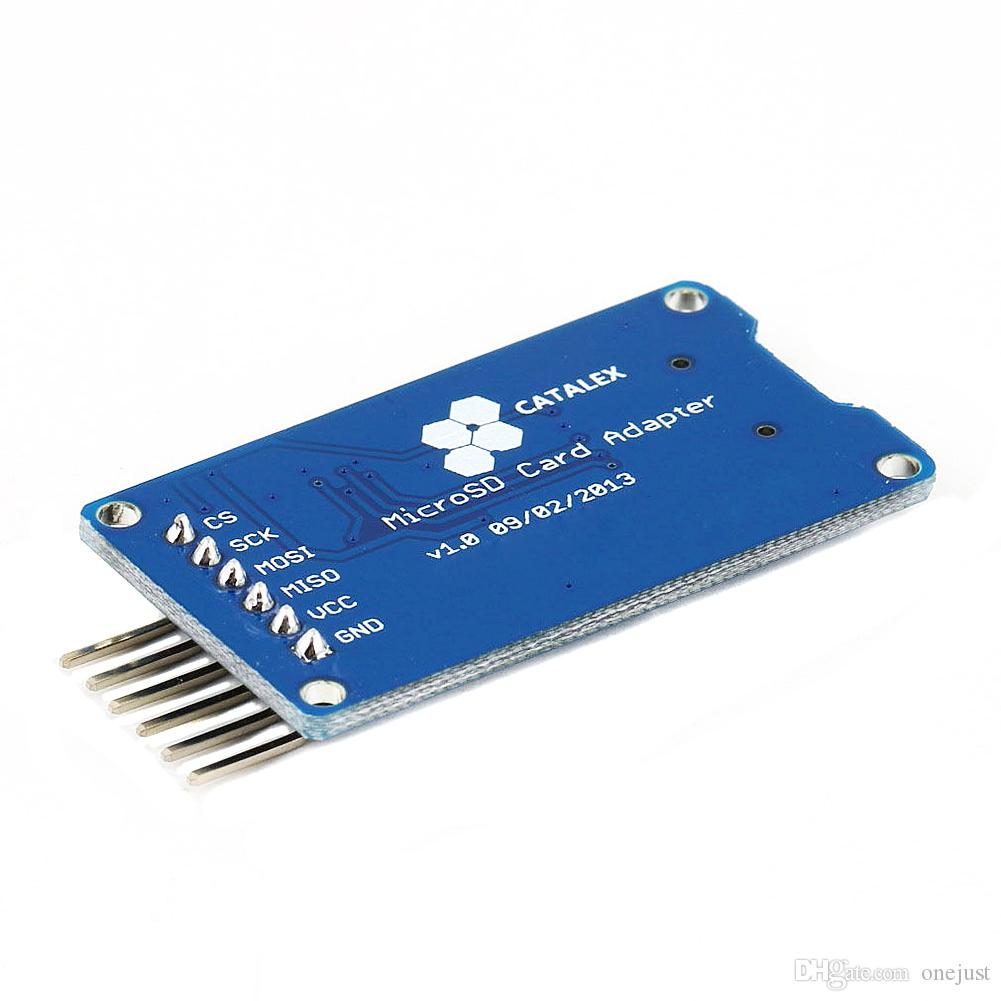 Micro SD Tablero de almacenamiento McIRO SD TF Tarjeta Memory Shield Module SPI Arduino B00315 Osth