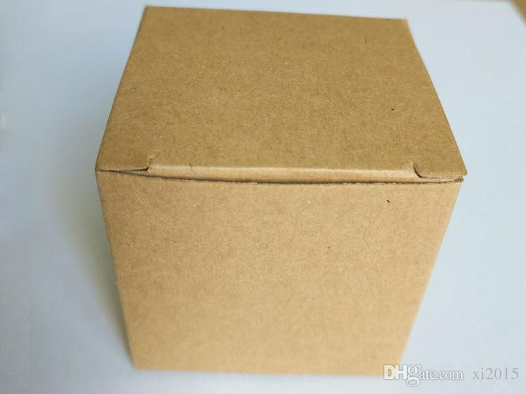 DIY Simple Kraft Paper Wedding Candy Box With Writing Card Special Candy Gift Box Party Birthday Supplies wen4513