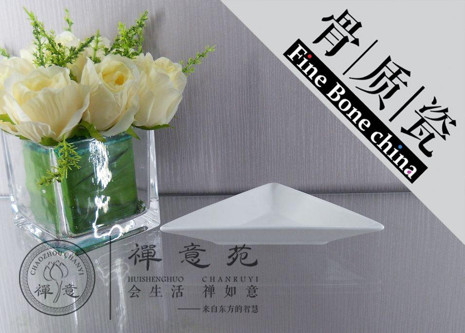 2018 19cm Dream Triangle Plate Fine Bone China Dinner Plate Quality Diamonds Plate Salad Tableware Hotel Restaurant Fine Porcelain Unique Design From ... & 2018 19cm Dream Triangle Plate Fine Bone China Dinner Plate Quality ...