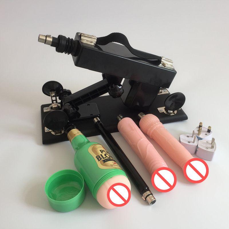 Male Masturbation Sex Machine Automatic Masturbators Machine with Dildo Accessories Adult Sex Toys for Men and Women