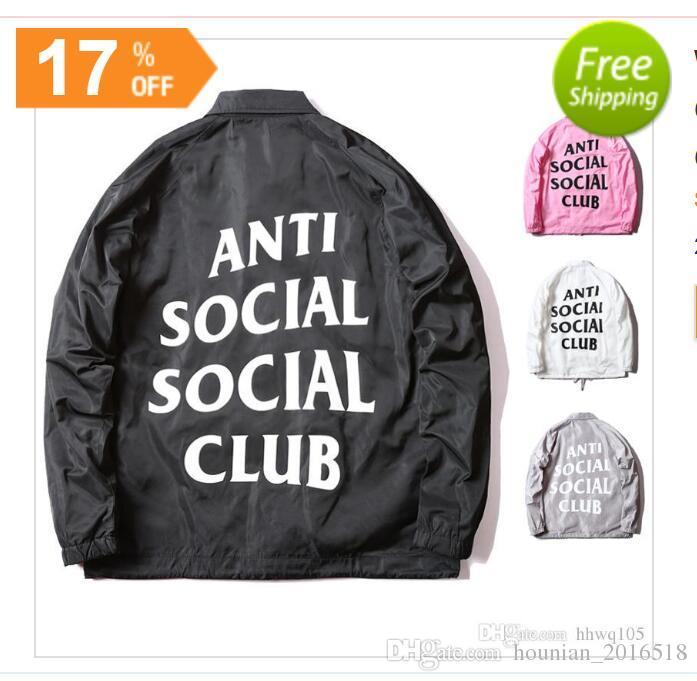 Social Veste Vestes Anti Club Vent Coaches Hommes Hip Acheter H6twqdq