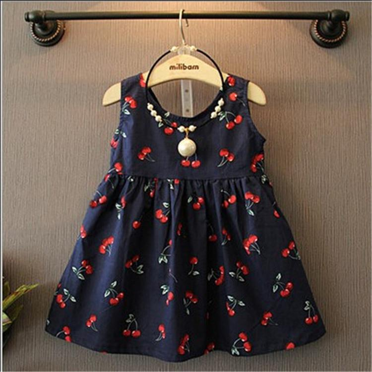 2018 baby girl dress 2016 new summer kids fashion casual