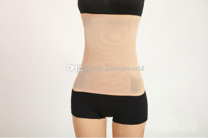 Factory price Tummy Trimmer Body Shaper Trimmer Slimming Belt Invisible Underwear opp bag package
