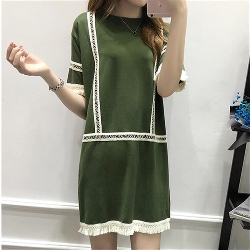 Green Straight Dress
