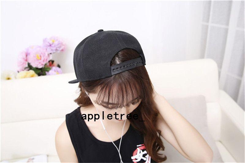 Обычная пустая шляпа Snapback твердые шляпы snapback Бейсбол спортивные шапки Мужчины Женщины хип-хоп хип-хоп бейсболка регулируемая баскетбол Hat Оптовая горячая