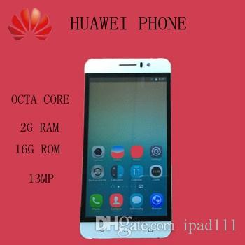 a1d2e9e0cb6d5 Best Huawei 7I Phone 5 HD 1080P Dual SIM Cell Phone 2GB RAM 16GB ROM 13.0MP  Android 4.4 3G Unlocked Cell Phone With Gifts Review Android Phones Smart  Card ...