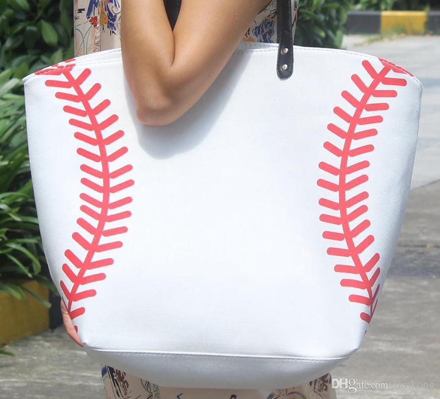 2016 wholesale blanks softball baseball tote bags sports bags casual see larger image publicscrutiny Choice Image