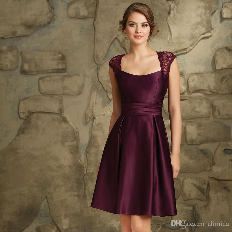 Gemütlich Plus Größe Lila Brautjungfer Kleid Zeitgenössisch ...