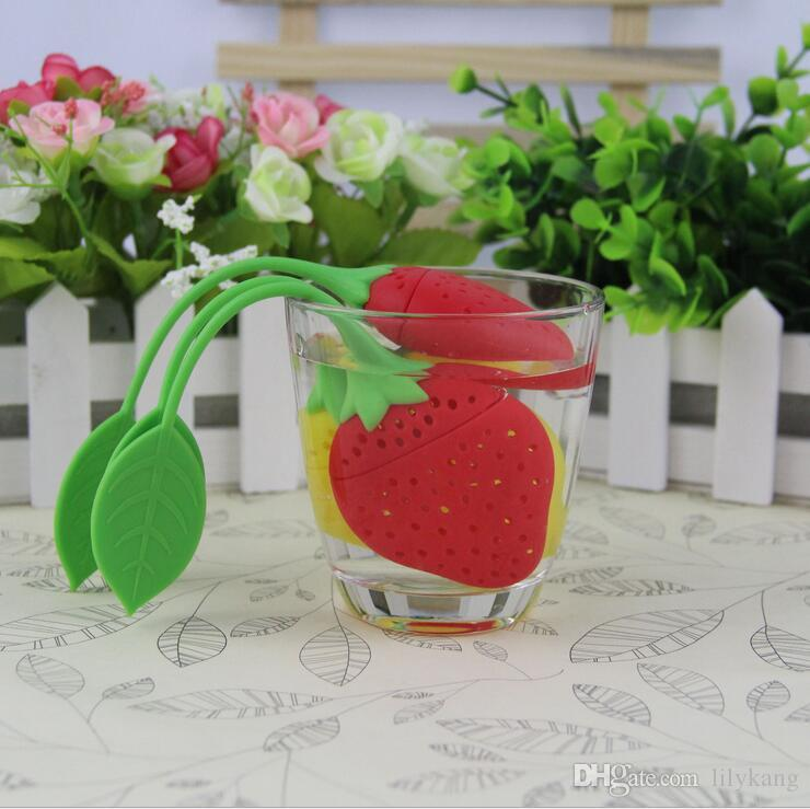 New Reuseable Silicone Lemon Shape Tea Bag Infuser Holder Tea Coffee Filter Strainer Tea Ball Infusers Kitchen Accessories