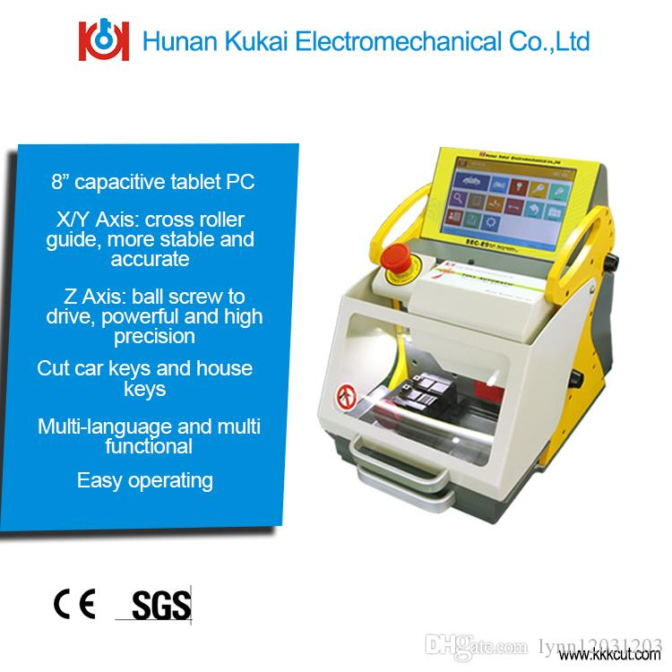 High Performance Portable Key Cutting Machine Key Code Machines SEC-E9  Similar Function with Miracle A9 Key Cutting Machine