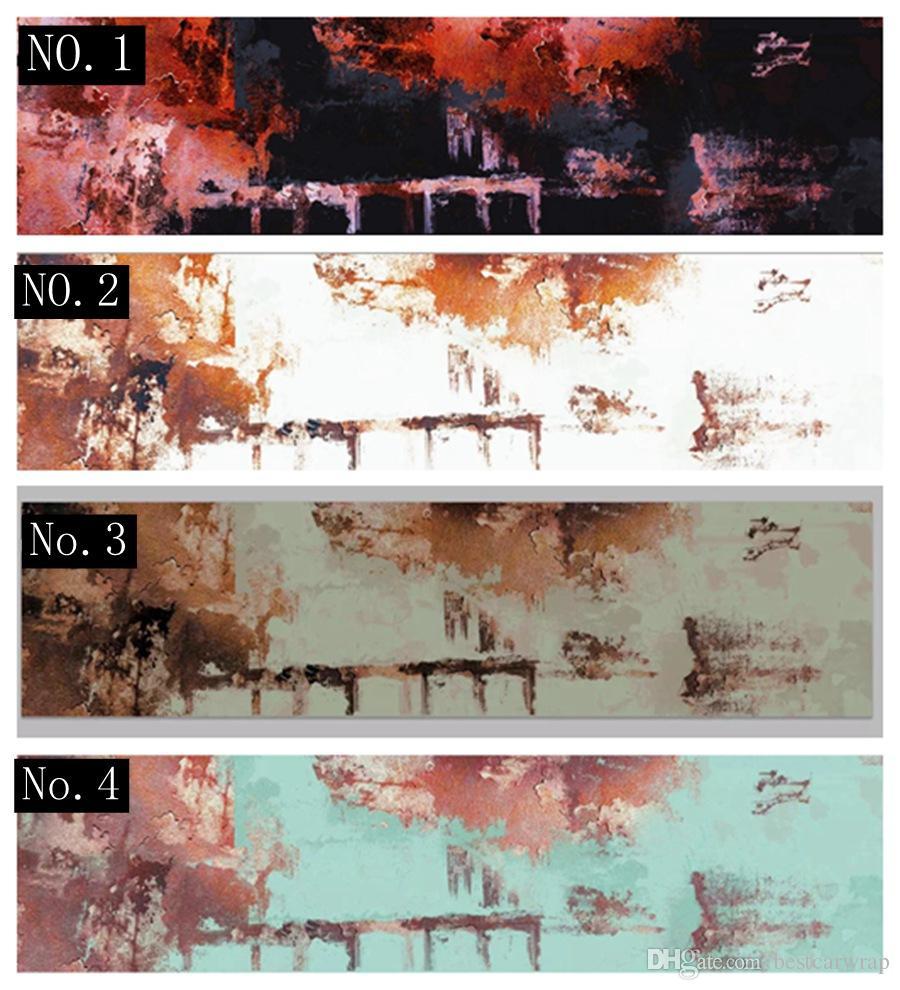 Винил ржавчины для заволакивания обруча автомобиля фильм foi обруча корабля 4 красит доступный размер l 1.52 x 30m /4.98x98ft