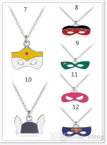 2018 Autumn and winter new arrival Halloween kids accessories mask pendant Christmas Boys and girls necklace wholesale 27