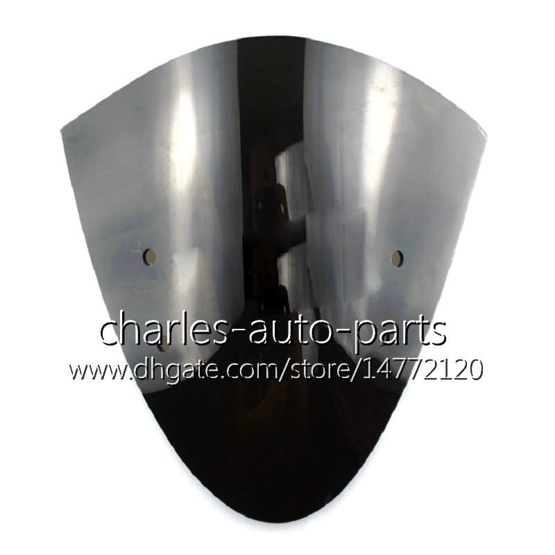 Motorcycle Windshield WindScreen For Kawasaki ER-6N 12 13 14 15 16 ER6N 2012 2013 2014 2015 2016 Airflow Wind Flyscreen Deflector Protection
