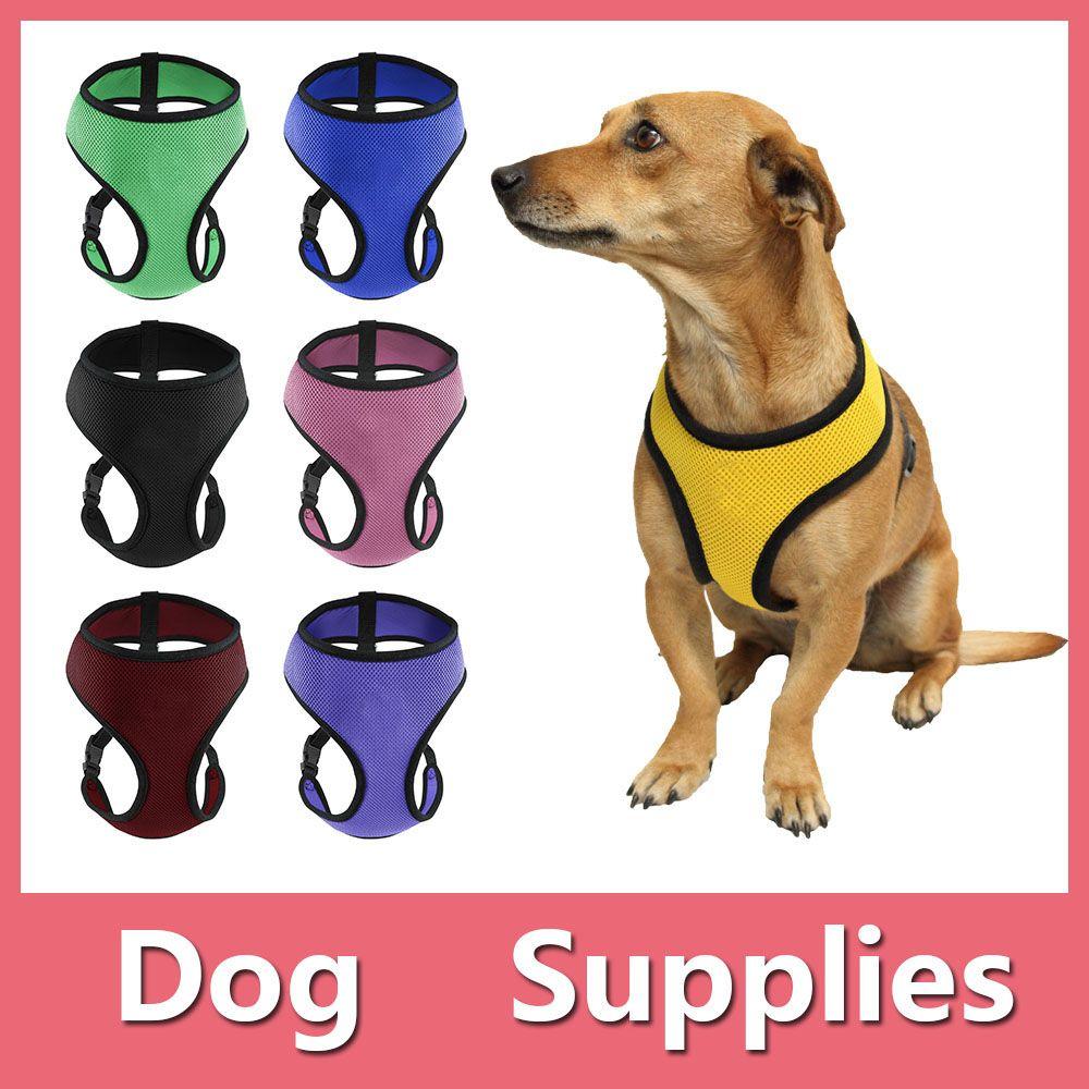2018 OxGord Pet Control Harness For Dog & Cat Soft Mesh Walk Collar
