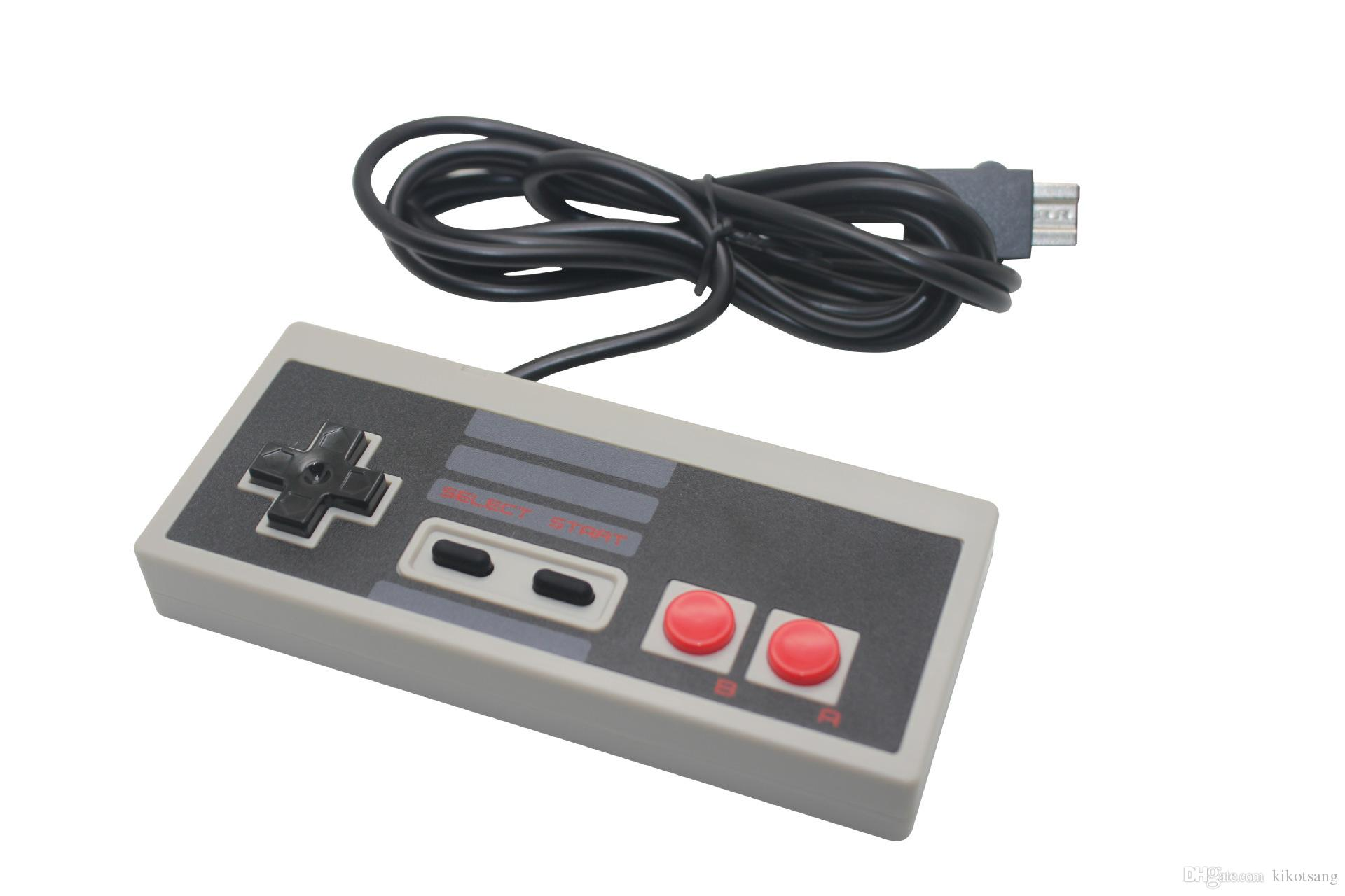 wired retro style game controllers game joystick cable gamepad for