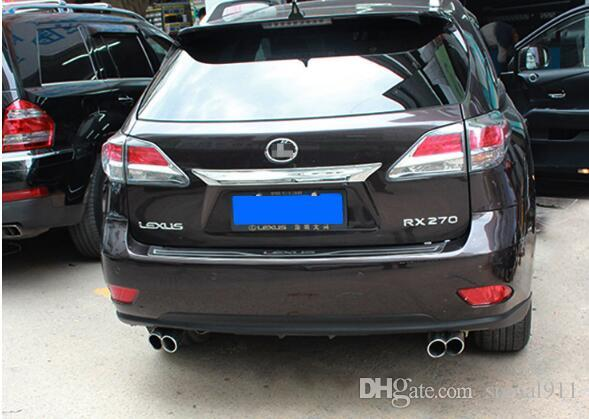 High quality stainless steel car Rear Bumper sucff Plate,guard plate,protection bar For Lexus RX270/350