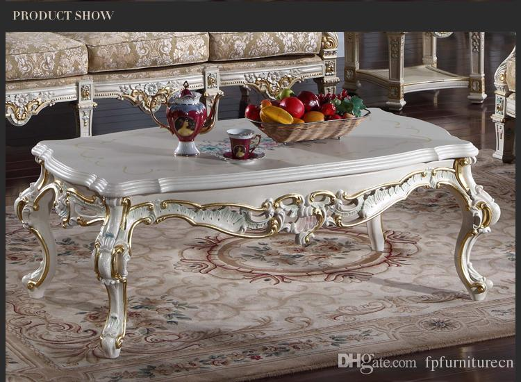 Antique furniture manufacturer-French classic coffee table - Italian classic coffee table