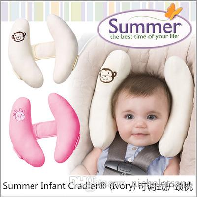 high quality summer infant cradler baby toddler safty neck head protection adjustable travel sleeping pad baby car seat pillow pillow kids pillow children