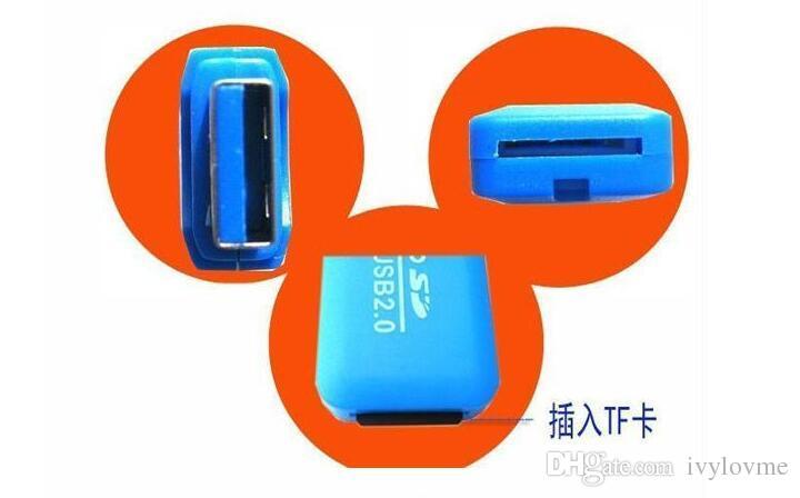 Directo de fábrica del envío gratuito de alta velocidad USB 2.0 tarjeta Micro SD T-Flash TF M2 Adaptador de lector de tarjeta de memoria 2 gb 4 gb 8 gb 16 gb 32 gb 64 gb