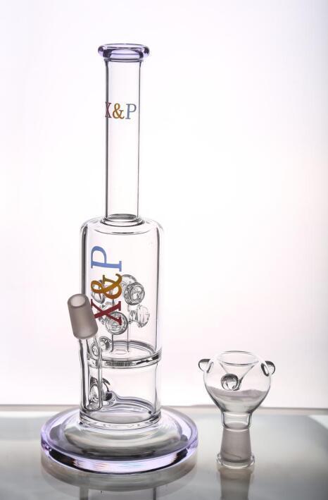 Nuove Water Pipes economici Bong di vetro con attrezzi logo percs Riciclare piattaforme petrolifere Bong vetro con la ciotola Handblown smart pipe Pipe ad acqua