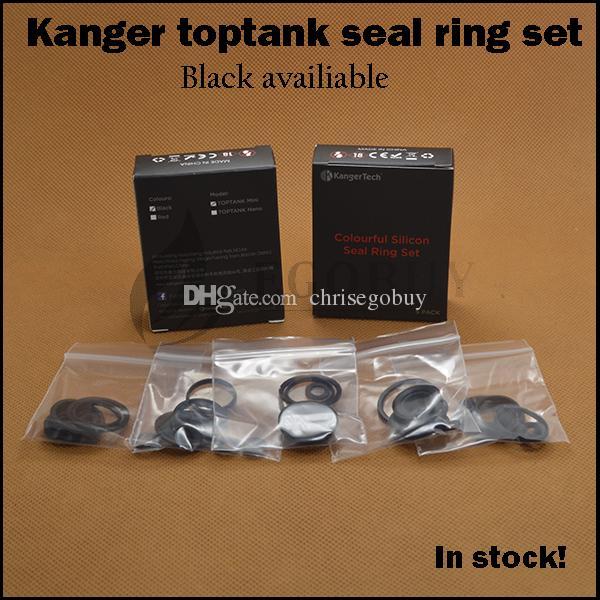 Original kanger toptank mini silicon seal ring replacement silicone o-ring for kangertech top tank mini sub ohm atomizer topbox starter kit