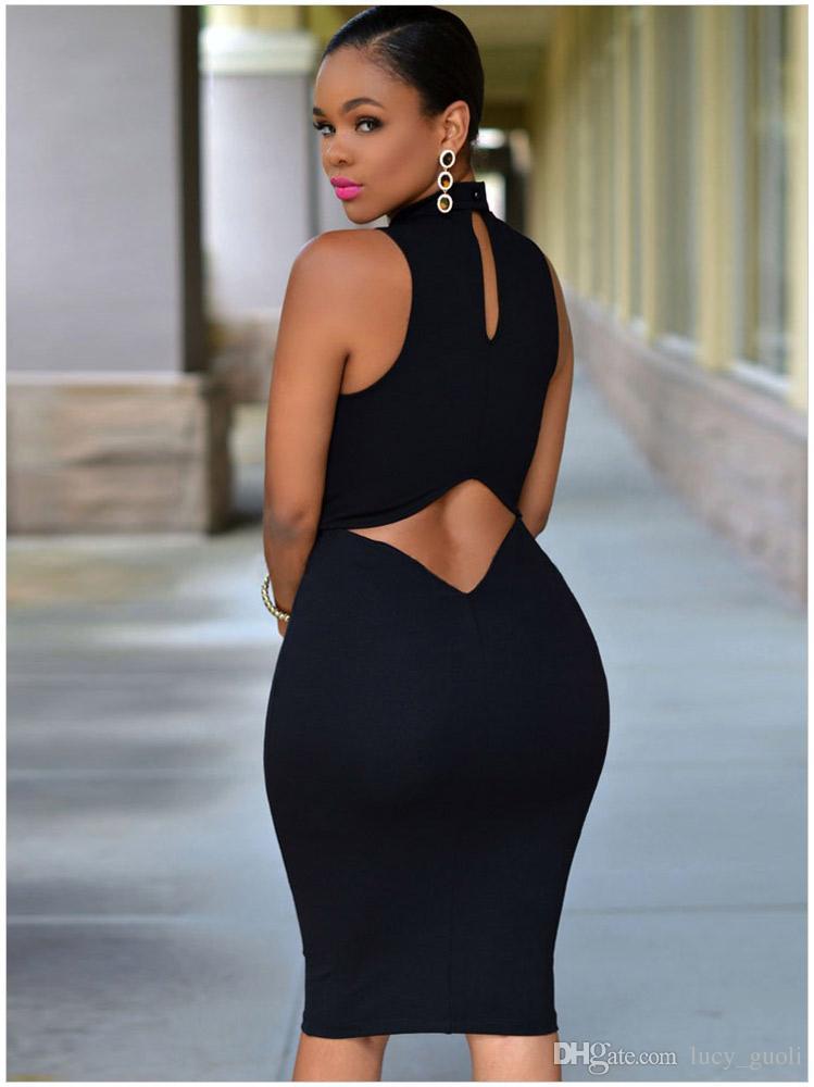 Damen Sexy Kleider Party Nachtclub Kleid 2016 Bodycon Abend Party Plus Größe Frauen Kleidung Robe Femme Vestidos Neu Weiß Schwarz Kleid