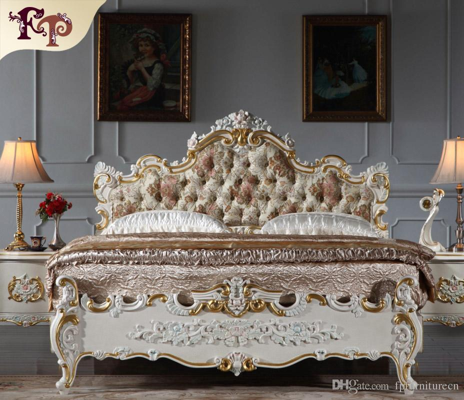 Bon 2018 Antique Hand Carved Wood Furniture Royal Classic Furniture High End  Classic Furniture Manufacturer From Fpfurniturecn, $3479.4 | Dhgate.Com