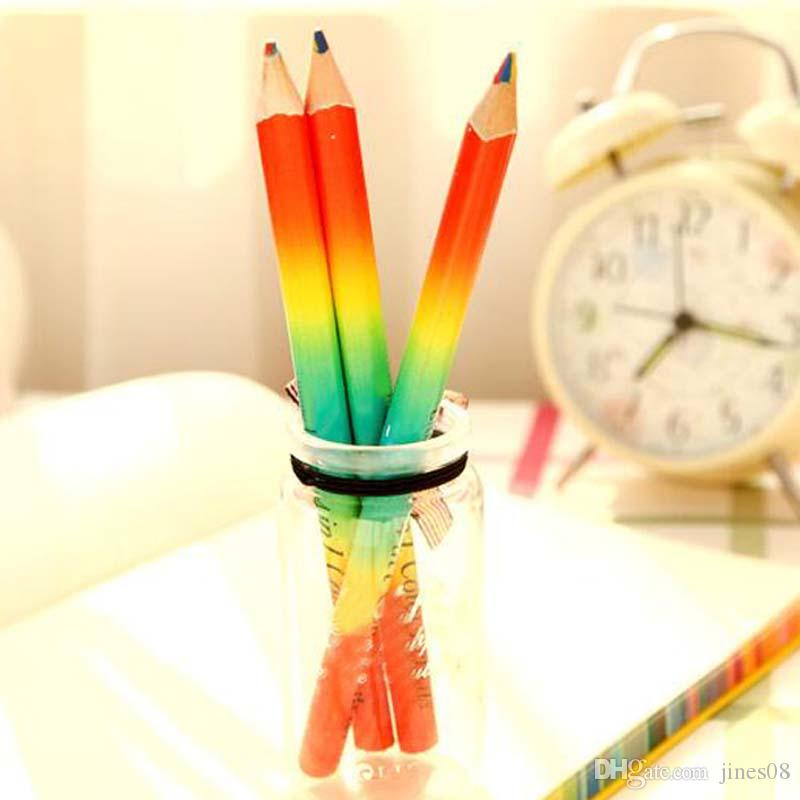 Wooden 4 in Pencils Children Play Graffiti Pencil School Supplies Painting Draw Tools Papelaria