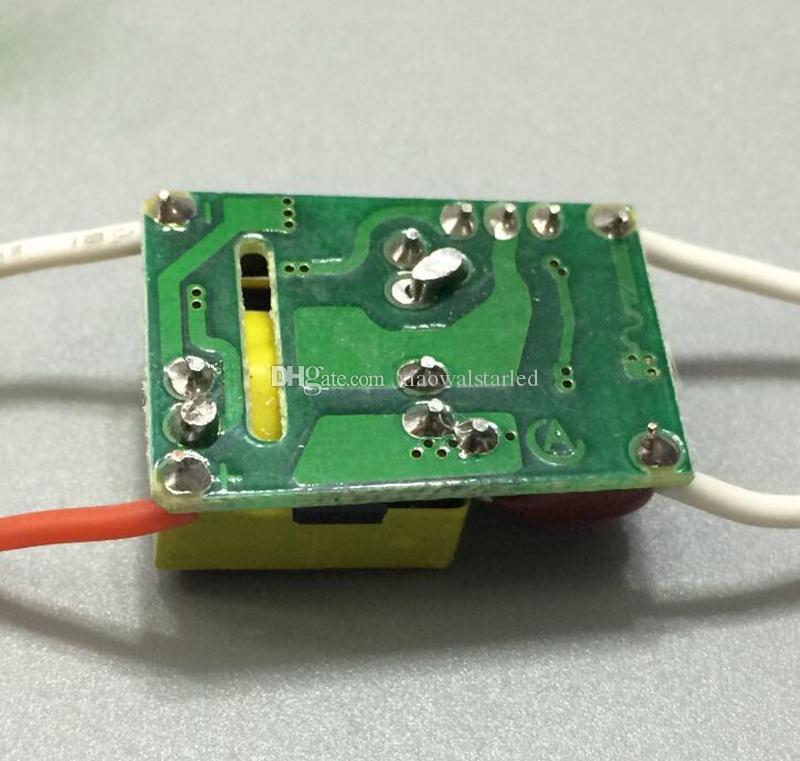 AC110V AC220V 3x1W de alta qualidade PF0.9 triac driver LED Dimmable Lâmpada de Alimentação de iluminação Transformadores