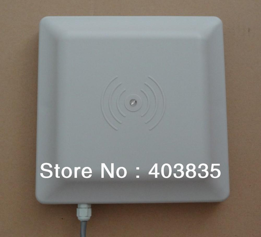Wholesale Long Range Lector Control Acceso Parking Barrier Gate Uhf Rfid Reader Ic System 16m Integrated Online With