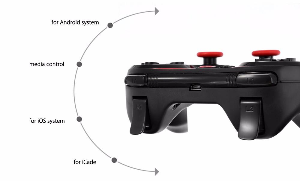 DHL Wireless Bluetooth Joystick Gamepad Gaming Controller Remote Control for Android/iPhone iCade Games PC Holder Included