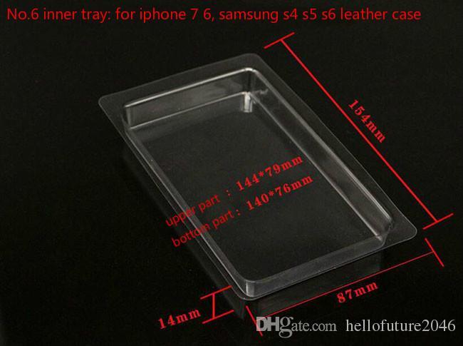 Nenhum pacote de varejo de impressão em branco sacos de casos de telefone móvel caixa de embalagem de embalagem de papel kraft personalizado para iphone 4 5 6 galaxy s3 s4 nota 2 3