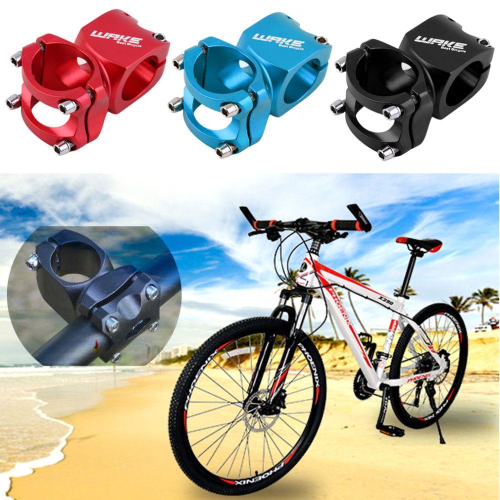 Aleación de aluminio Ciclismo Bike Stem 31.8mm Piezas de bicicleta Handlebar Stem Road MTB Mountain Adjustable Bicycle Stem Nuevo