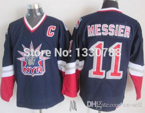 33c67f4fb 2019 Cheap Original New York Rangers Jersey Mark Messier Liberty ...