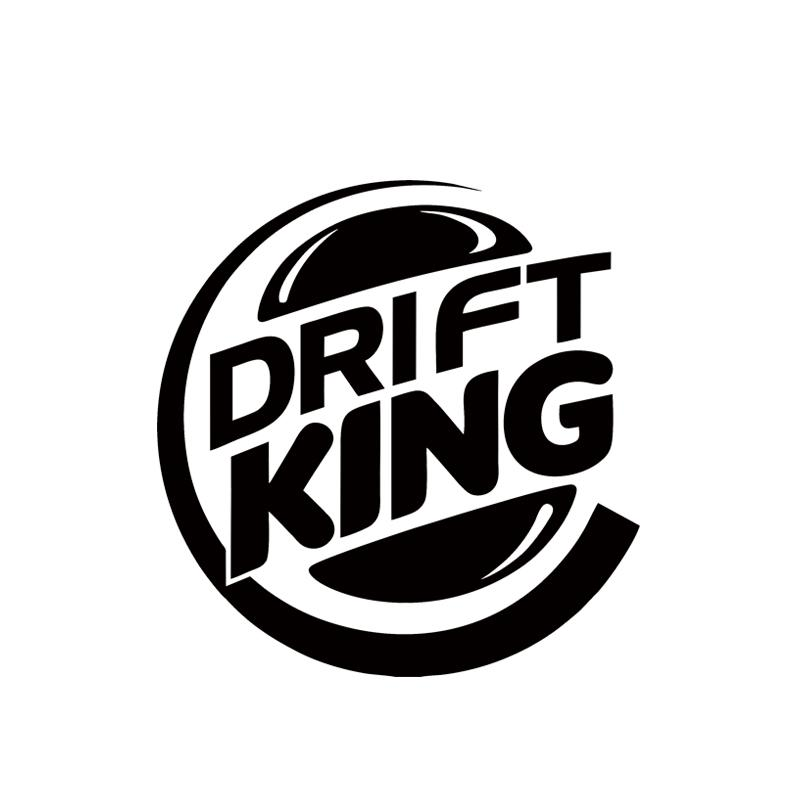 Personality Car Decal Jdm Drift King Motorcycle Car Vinyl Car