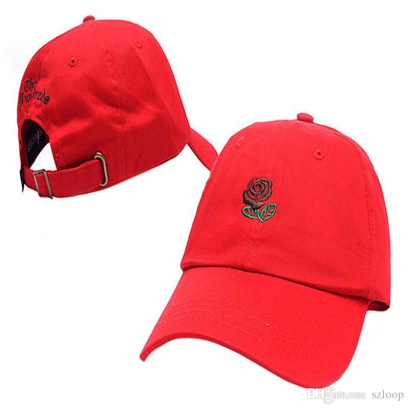 En plein air Rose Sangle Retour Cap Réglable Golf Snapback Unisexe Baseball Soleil Chapeaux Hip-Hop 8 Couleurs 2503034