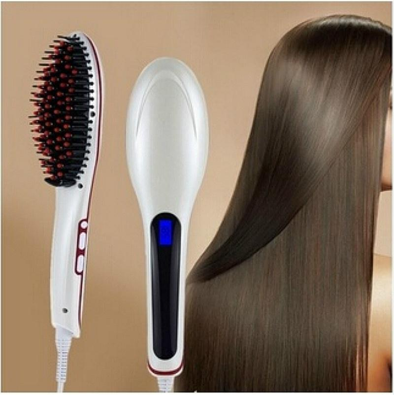 Women Fashion Automatic Hair Straightening Comb Us Eu Uk
