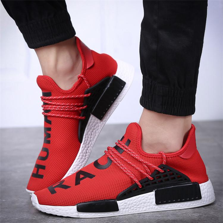 Big Brand Cheap Adidas Canada NMD Human Race Tangerine Core Black