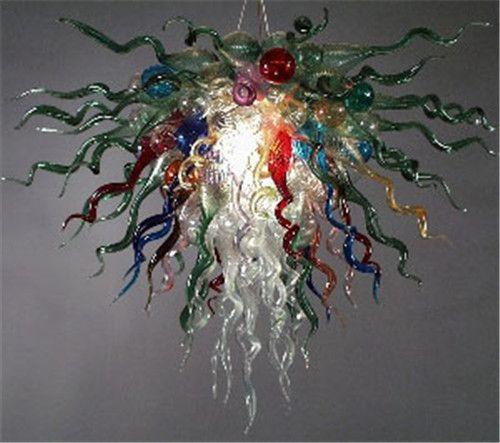 Modern glass chandelier modern ceiling lamp blown glass chandelier Crystal Chandelier CE UL AC 110-240V LED