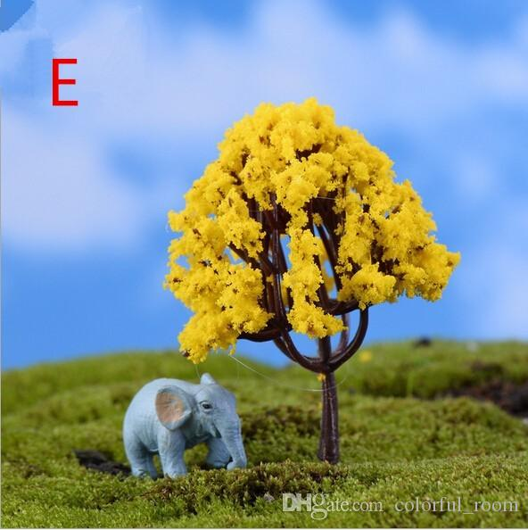 wholesale 4design cute trees flower fairy garden miniatures gnomes moss terrariums crafts bonsai home decoration for home decor DIY Zakka