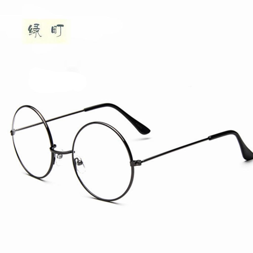 b172f323c40 2019 Wholesale New Fashion Wizard 100% Pure Titanium Eyeglasses Frames Men  Women Round Eyeglasses Gold Glasses Frames 032 From Pulchritudinous