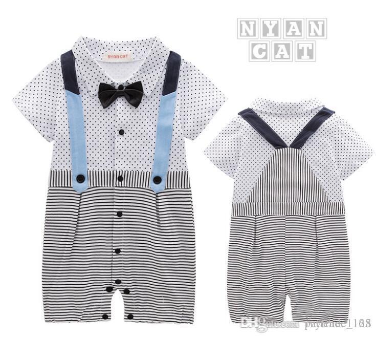 3914b1f09 Online Cheap New Style Summer Style Baby Kids Cute Gentleman Short ...