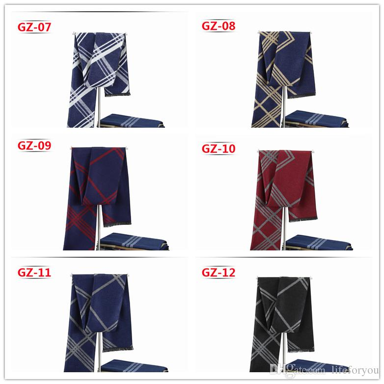 mens scarf charms Brand designer scarf cashmere scarfs for men brand scarves fashion wraps casual men dresses luxury accessories