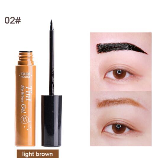 Long Lasting Natural Peel off Eyebrow Tint Gel of My Brows gel Tint Tattoo Makeup Dye Color Eyebrow Cream