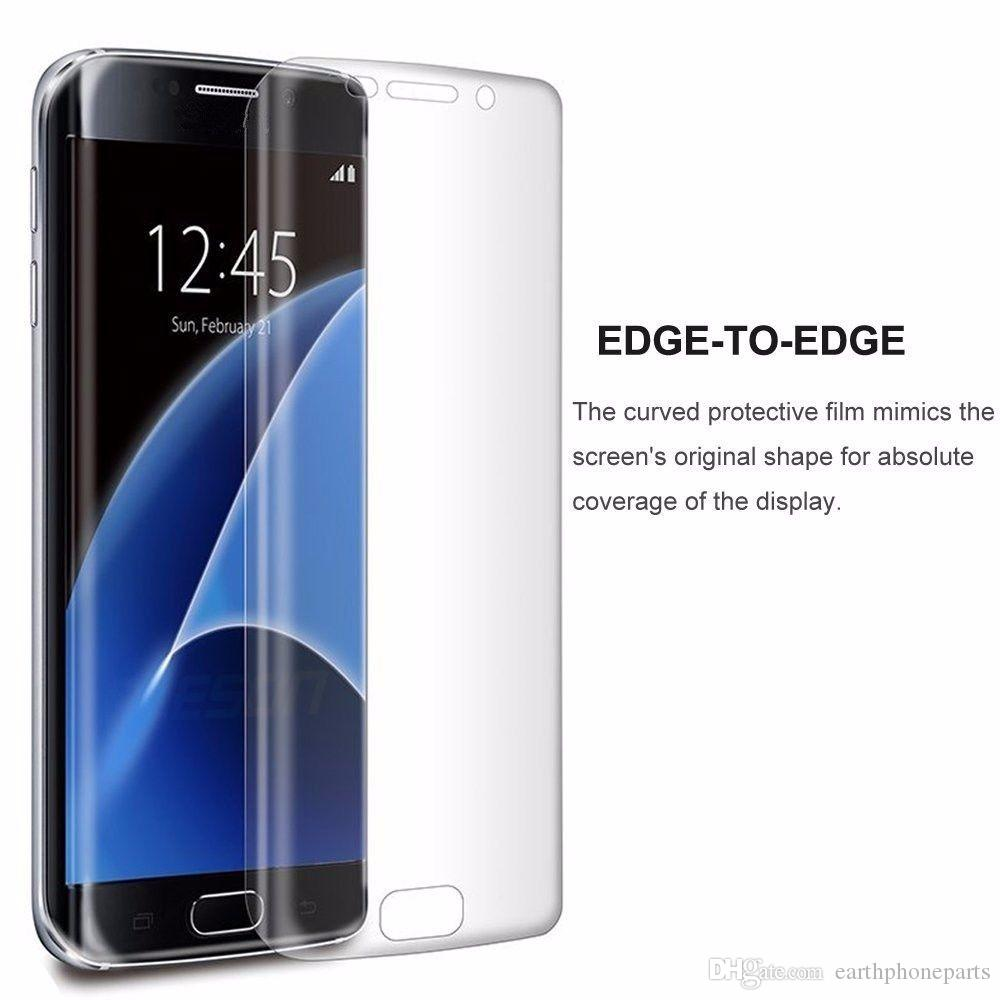 9H Full Cover 3D Curved HD Tempered Glass Film Screen Protector For Samsung Galaxy S7 Edge