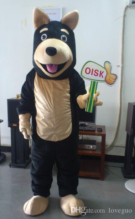 Oisk Custom Doberman Dog Mascot Costume Animal Suit Halloween Christmas Birthday Full Body Props Costumes Outfit Plus Size Mascot Costumes Halloween ... & Oisk Custom Doberman Dog Mascot Costume Animal Suit Halloween ...
