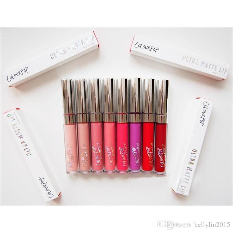 Colourpop Liquid Matte Lipstick Cosmetics Waterproof Makeup Lip Gloss Batons Lipgloss Batom Ultra Matte Lipsticks Colour pop
