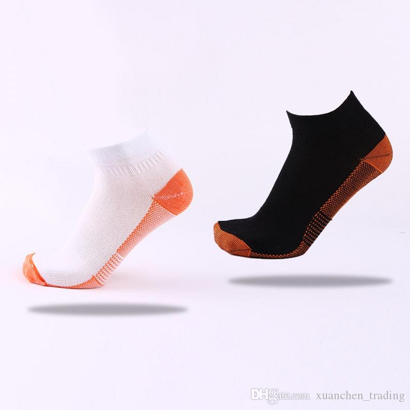 2017 New Fashion Spring Autumn men and women sport short socks leisure socks breathable sweat protective socks copper fiber wholesale