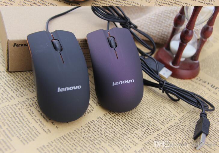 DHL Lenovo M20 проводной мыши USB 2.0 Pro Gaming Mouse Optical Mice для компьютерного ПК Высокое качество
